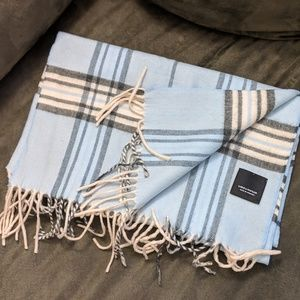 Super soft plaid scarf